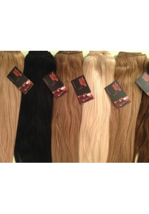 Волосы на заколках  Remy- АА класса 67 см - 160 грамм
